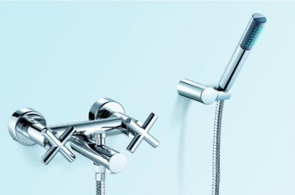Wall mounted bath mixer with/without shower set  China manufacturer factory[068520]