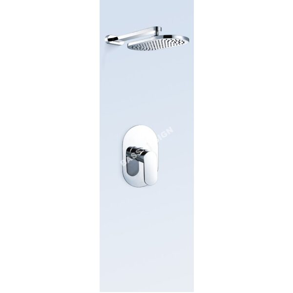 Bath mixer tap with shower