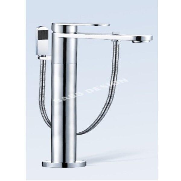 Bath mixer taps with shower
