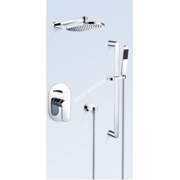Bath shower thermostatic mixer taps