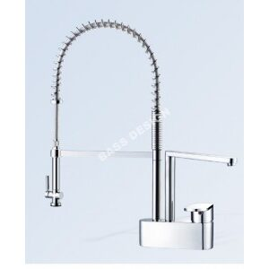 Commercial kitchen taps