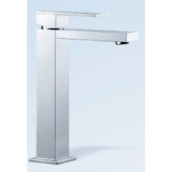 Square Single Lever Mounted Basin Mixer